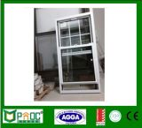 2017 Amerikaner-Art-Aluminiumdoppelverglasung-einzelnes gehangenes Fenster