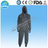 Coveralls водоустойчивого PE PP защитной одежды Coveralls устранимые пластичные