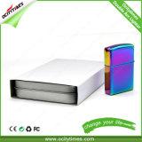 Heißes Weihnachtsgeschenk-Zink-Legierungs-Doppelt-Lichtbogen USB-Feuerzeug