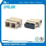 Adaptador fixo da fibra óptica do Sc