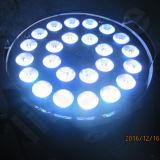 세륨 RoHS를 가진 단계 RGBW 24X10W 동위 64 LED