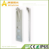 30W PI65 tudo-em-um LED Solar Luz de rua com Sensor de PIR