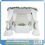 Elegantes China drapiert Vorhang-Hochzeits-Dekoration-Hintergrund - China-Hochzeits-Hintergrund