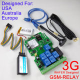 Versión 3G Salida de relé GSM-Relay GSM 3G Conmutador de relé remoto