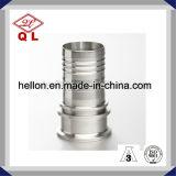 造られた衛生ステンレス鋼の管付属品のホースのニップル