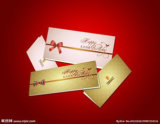 Nuova stampa magnetica della cartolina d'auguri di disegno