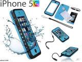 Cas imperméable à l'eau de téléphone cellulaire protection chaude de la vente 2017 de pleine pour iPhone5 C