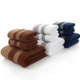 Оптовые установленные полотенца ванны, профессиональные поставкы стороны гостиницы хлопка полотенец