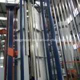 Ligne d'enduit en aluminium de poudre type de verticale