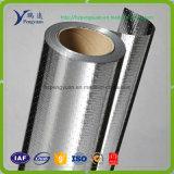 Le papier d'aluminium a feuilleté la barrière radiante percée par roulis tissée de tissu