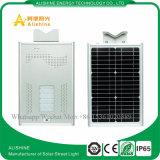 Luz de calle solar integrada de la fábrica LED de China con la lista de precios