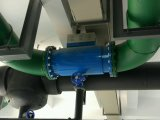 냉각장치를 위한 자동 관 청소 시스템