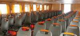 250 escaños de transbordadores de pasajeros de acero se suministran con la decoración de lujo