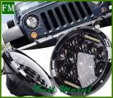 koplamp van de Vervanging 12V/24V Wrangler 7 Duim 75W voor Jeep
