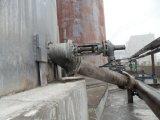Válvula inferior enrasada neumática del tanque