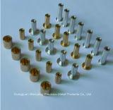 Pièces de usinage de commande numérique par ordinateur d'en cuivre en aluminium/de qualité en laiton
