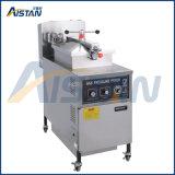 Type de gaz ou électrique en acier inoxydable 304 de la pression de la puce Friteuse de matériel de boulangerie