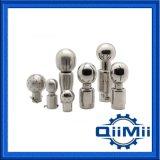 Tête de nettoyage sanitaire en acier inoxydable fixe / rotative Balle de pulvérisation de nettoyage CIP