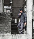 회색 전술상 육군 군인 옥외 난조 야영 방수 재킷