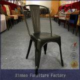 木のシートが付いている喫茶店のための高品質の鉄の屋外の椅子