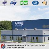 Costruzione prefabbricata della struttura d'acciaio di qualità di disegno moderno