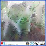 3mm 4mm 5mm 6mm 8mm 10mm 12mm het Zuur Geëtstee Glas van het Patroon
