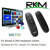 2.4G Air Mouse para Media Player