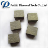 Segmento de múltiples capas del diamante de la lámina del granito del corte por bloques