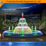 Paquet de bois décoratifs de lumière LED de la fontaine de la musique
