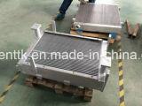 空気によって冷却されるディーゼル機関の版のひれの熱交換器オイルクーラー