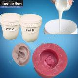 Gomma di silicone di versamento per l'orecchio del seno del piedino del fronte di Lifecasting