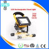 Fácil de manusear LED Camping Holofote LED Recarregável de emergência 10W