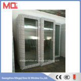 Single panel PVC Swing Glass Door Mqd-05