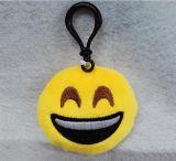 사랑스러운 견면 벨벳 Emoji 연약한 Keychain