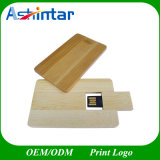 Faire pivoter Mmoery Pendrive USB Stick USB Lecteur Flash USB de carte de bois