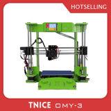 심천에 있는 3D 인쇄 기계의 매우 종류
