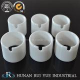 La zircone/ZRO2 usure tube en céramique résistant à la transformation d'usinage