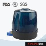Aço inoxidável fluxo sanitárias mudam com a válvula (JO-VDF1005)