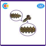 Aço de carbono 4.4/8.8/10.9 Phillips/parafusos galvanizados da Auto-Perfuração do prendedor da bandeja cabeça transversal