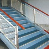 デザインガラス柵階段304ステンレス鋼ガラスの手すりを放しなさい