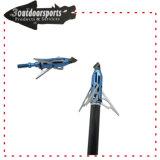 testa della freccia di tiro all'arco di Broadhead delle lamierine 3mechanical per caccia dell'arco
