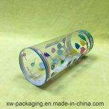 Transparenter Zylinder-Kasten für das Kunststoffgehäuse