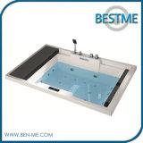 Bañera de acrílico del masaje de las mercancías sanitarias del enchufe de fábrica (BT-A1003)
