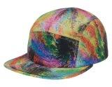 Imprimer la conception personnalisée 5 panneau Hat Cap