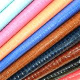 Leatherette matériel favorable à l'environnement d'unité centrale pour la couverture de sofa de meubles