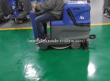 Compact Ride on Floor Cleaner Scrubber Dryer