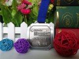 記念品のギフトのための高品質によってカスタマイズされる締縄の金属のフィニッシャーメダル