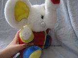 Brinquedo colorido e educacional do elefante do luxuoso