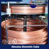 Fio de alumínio folheado de cobre