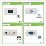 De slimme Contactdoos van de Muur van de Lader USB van de Plaat USB van de Muur van het Huis USB